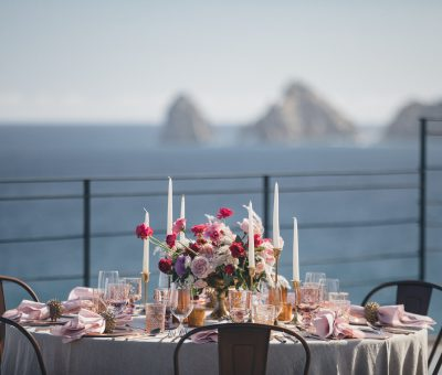 Destination wedding couples and guests can experience the views of Lands End at their Cabo Wedding
