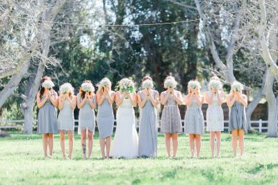 destination wedding, bridesmaid dresses, wedding dress style